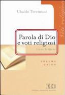Parola di Dio e voti religiosi