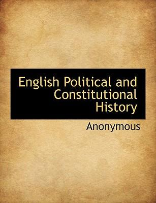 English Political and Constitutional History