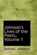 Johnson's Lives of the Poets