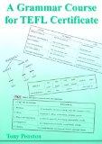 A Grammar Course For TEFL Certificate