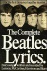 Complete Beatles Lyrics