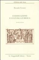 Codificazione e cultura giuridica