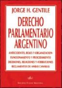 Derecho parlamentario argentino
