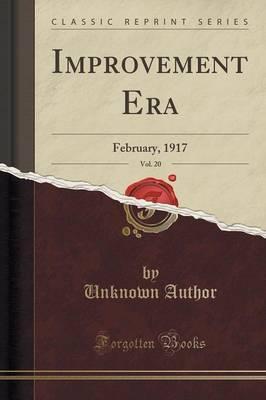Improvement Era, Vol. 20