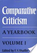 Comparative Criticism: Volume 1, The Literary Canon