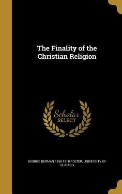 FINALITY OF THE CHRISTIAN RELI