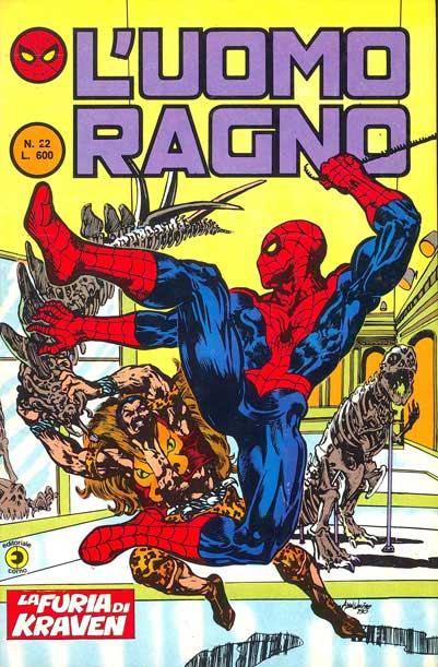 L'Uomo Ragno (2a serie) n. 22