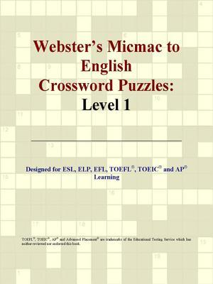 Webster's Micmac to English Crossword Puzzles