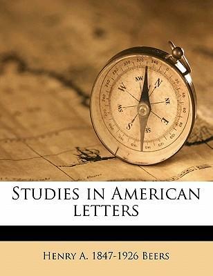 Studies in American Letters