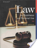 Just the FACTS101 E-Study Guide For: Law for Business and Personal Use