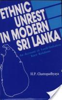 Ethnic unrest in modern Sri Lanka