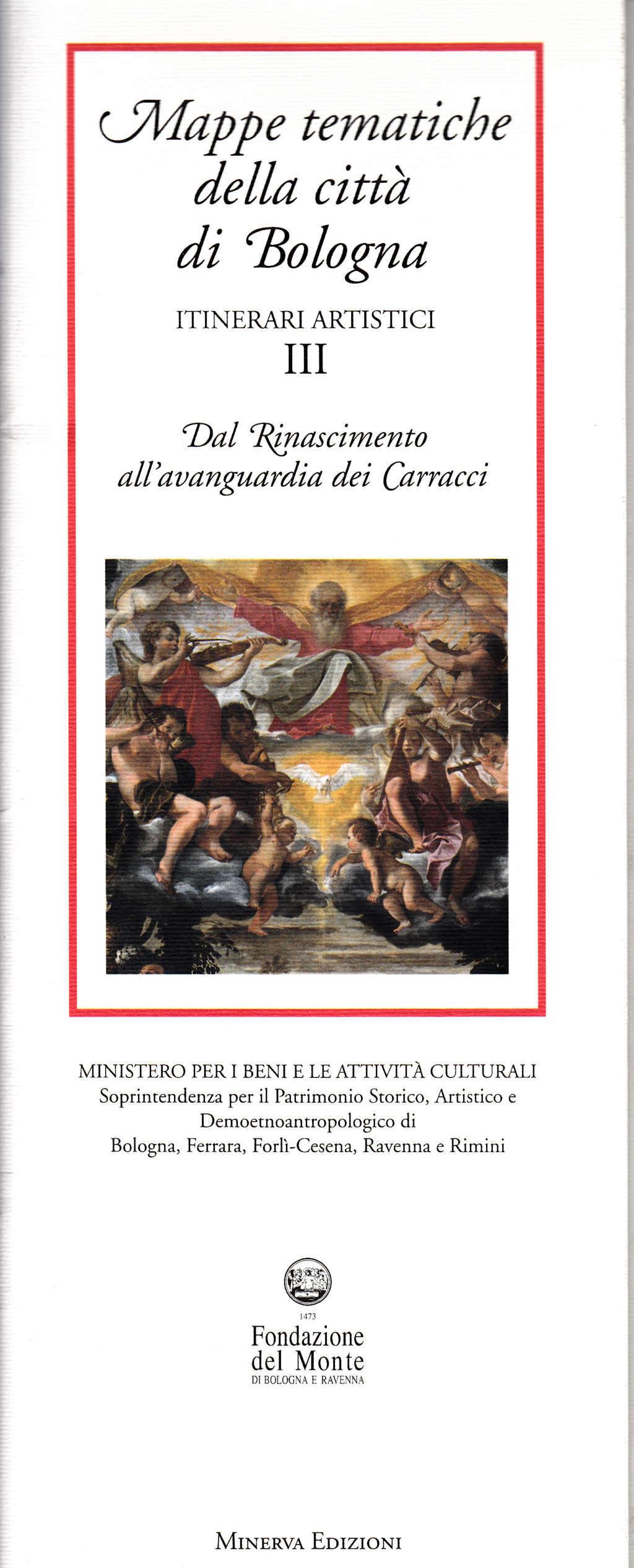 Mappe tematiche della città di Bologna: itinerari artistici - Vol. 3