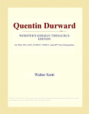 Quentin Durward (Webster's German Thesaurus Edition)