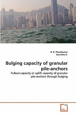 Bulging capacity of granular pile-anchors