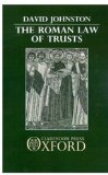 The Roman Law of Trusts