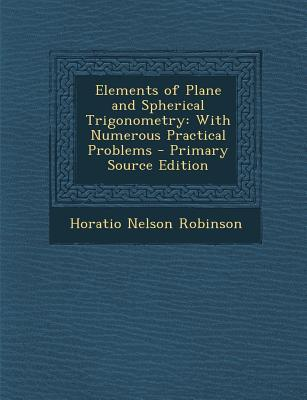 Elements of Plane an...