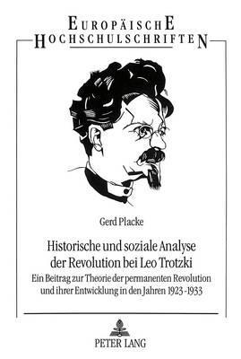 Historische und soziale Analyse der Revolution bei Leo Trotzki