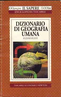 Dizionario di geografia umana