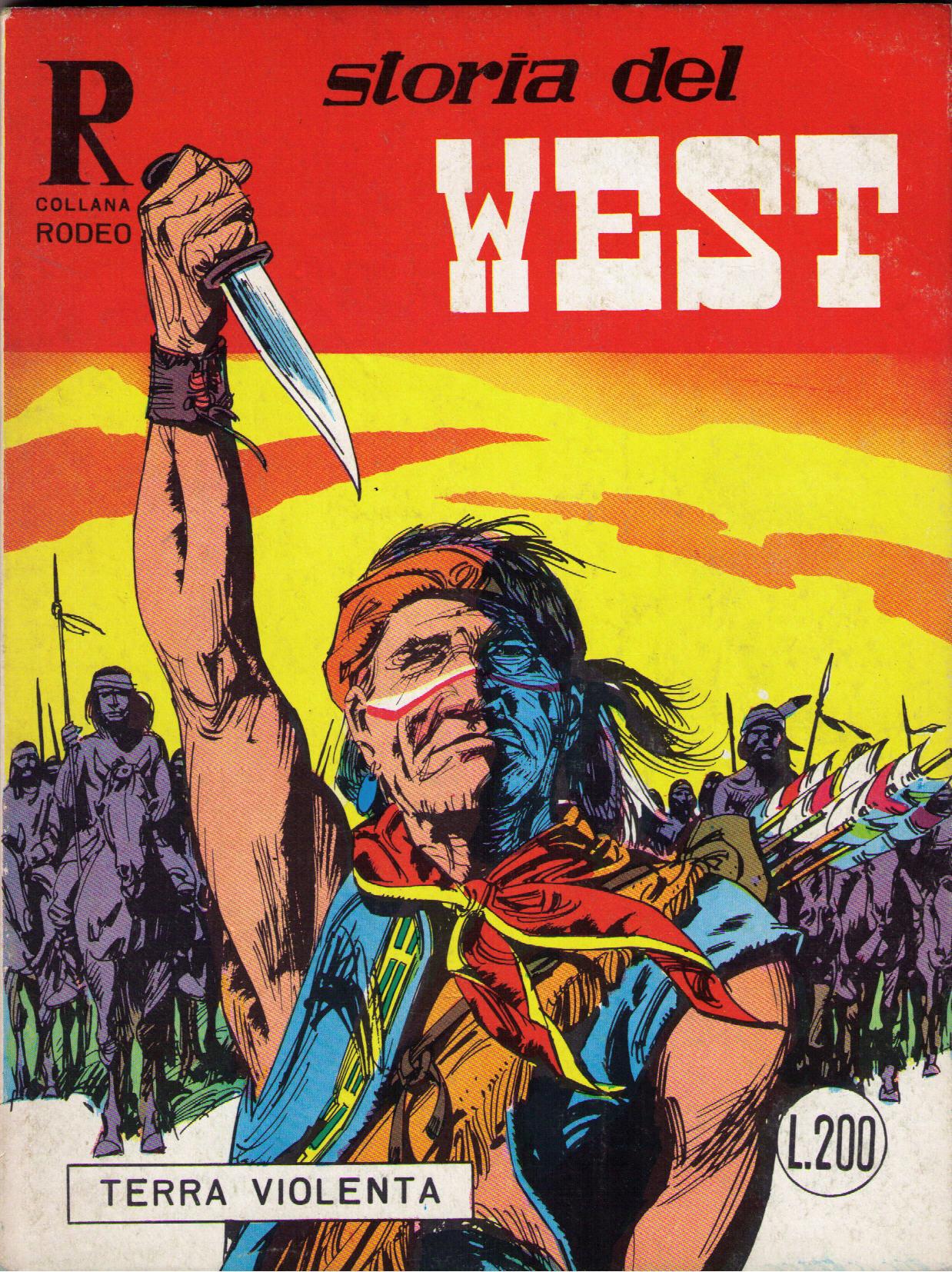 Storia del west n. 21 (collana Rodeo n. 45)