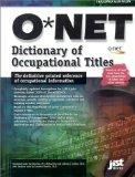 O net Dictionary of ...