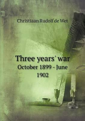 Three Years' War Oct...