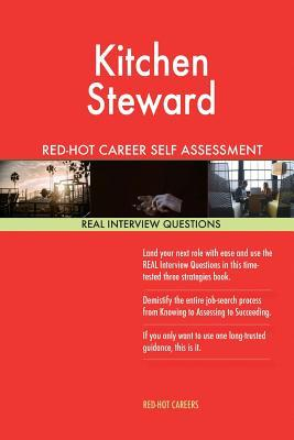 Kitchen Steward Red-...