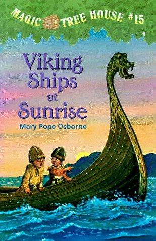 Viking Ships at Sunr...
