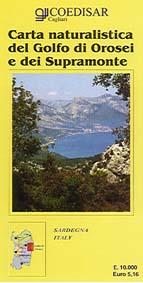 Carta naturalistica dei supramonte e del golfo di Orosei