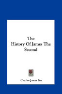 The History of James the Second
