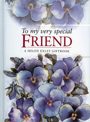 To My Very Special Friend