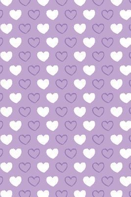 Bullet Journal Notebook Hearts Pattern 2