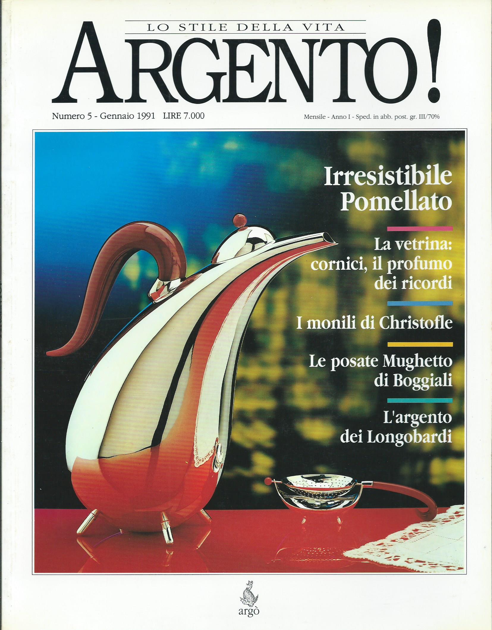 Argento! - Anno II, n. 5 - gennaio 1991