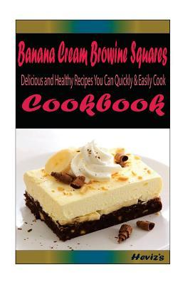 Banana Cream Brownie Squares