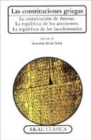 Las constituciones griegas