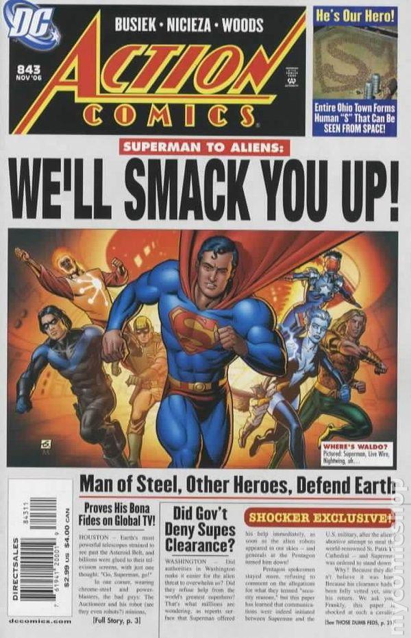 Action Comics Vol.1 ...