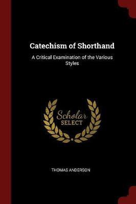 Catechism of Shorthand