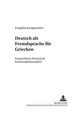 Deutsch als Fremdsprache für Griechen