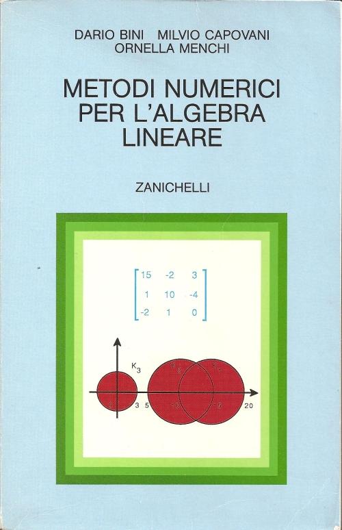 Metodi numerici per l'algebra lineare