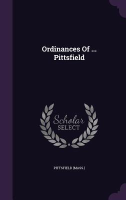 Ordinances of Pittsfield