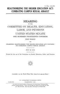 Reauthorizing the Higher Education Act