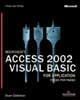Microsoft Access 2002 Visual Basic