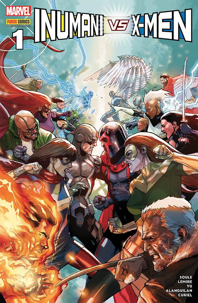 Inumani vs. X-Men #1