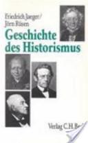 Geschichte des Historismus