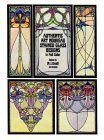 Authentic Art Nouveau Stained Glass Designs in Full Color