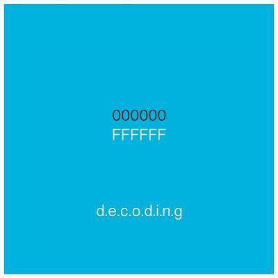 000000|Ffffff Decoding