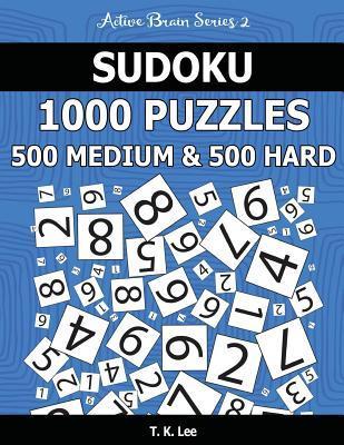 Sudoku 1,000 Puzzles, 500 Medium and 500 Hard