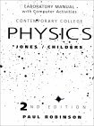 Contemporary College Physics: Laboratory Manual with Computer Activities