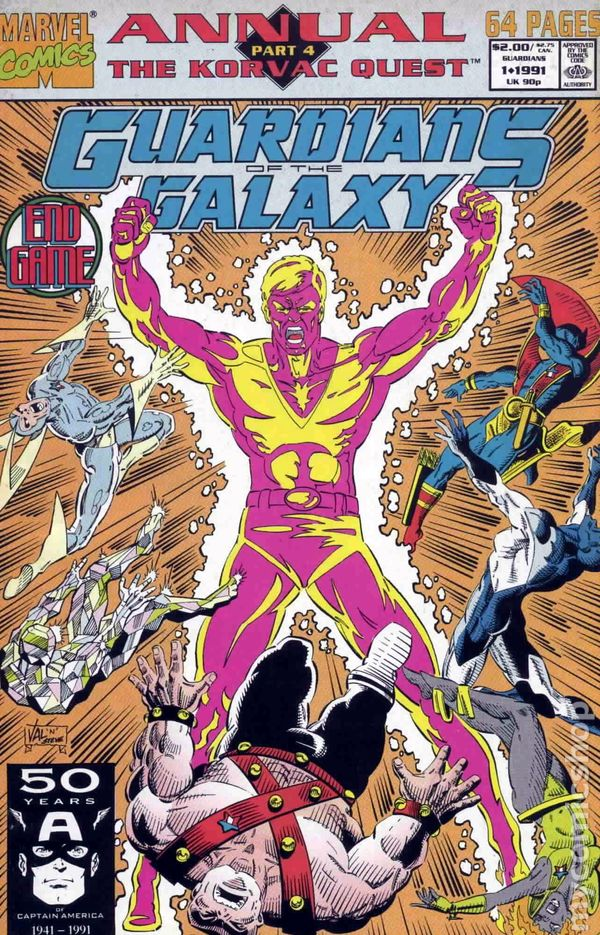 Guardians of the Galaxy Annual Vol.1 #1