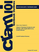 Outlines and Highlights for Object-Oriented Analysis and Design With Applications by Grady Booch