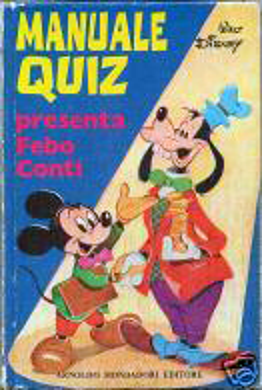 Manuale Quiz Walt Disney